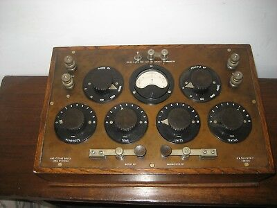 Vintage Wheatstone Bridge