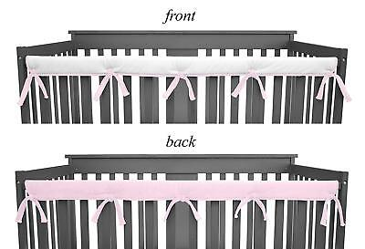 American Baby Company Heavenly Soft Narrow Reversible Crib Cover for Long Rail