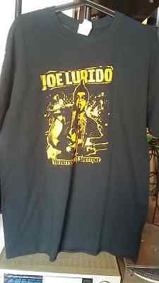 "T- Shirt Gildan Heavy Cotton L ""Joe Lurido"" nero black Jerry Calà"