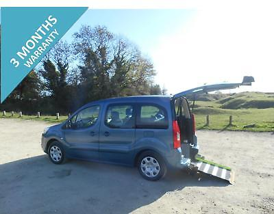 2010 Peugeot Partner Tepee  5 Seat Wheelchair Accessible Disabled Car