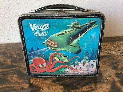 Vintage lunchbox Voyage To The Bottom of The Sea w/thermos