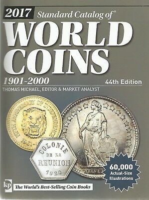 Standard Catalog of WORLD COINS Ausgabe 2017   44. Auflage