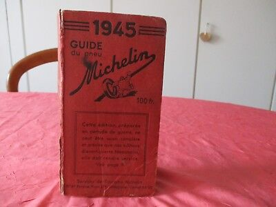 guide michelin 1945