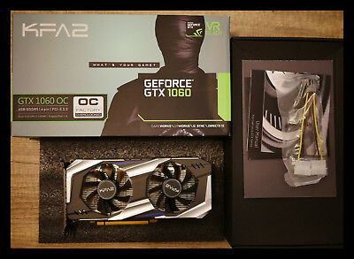 KFA2 GeForce GTX 1060 OC 6GB Grafikkarte OVP