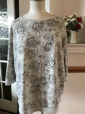 New Look Maternity Size 16 Womens Floral Jumper