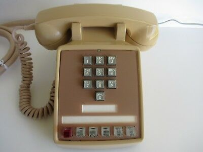 Antique   Western Electric 1500 Telephone rare 10 button office phone