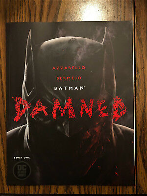Batman Damned #1 First print uncensored