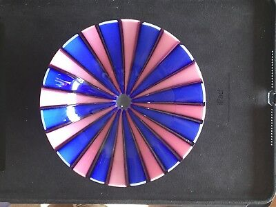 Murano Glass Bowl Possibly Fratelli Toso Rainbow Glass ?
