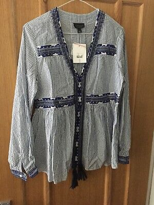 Topshop Maternity Top Size 10