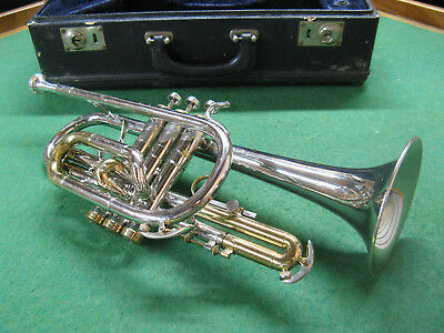Conn Constellation Cornet 1966 Elkhart Horn with Case and Conn 4 Mouthpiece