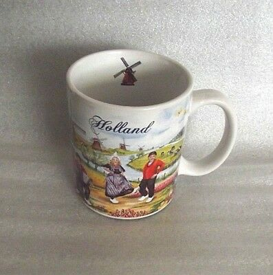 Holland Scenes Dutch Memories Sovereign Ceramic Coffee Mug Cup Trophee B.V.