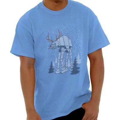 Star Wars Rudolph AT AT Reindeer Santa Funny Christmas T Shirt Tee