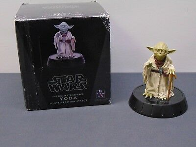 Star Wars Gentle Giant Limited Edition Yoda 2008 with original box SHIPS FREE