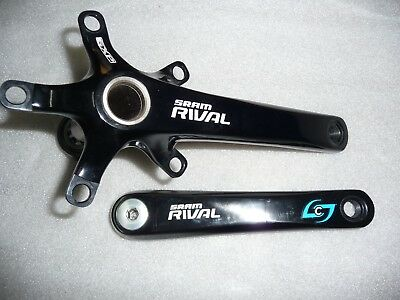 Stages Powermeter SRAM RIVAL 175 GXP 110 Compact Adapter BB30