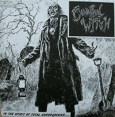 "CANNIBAL WITCH ""In The Spirit Of Total Underground""  7"" dahmer,mesrine,warsore"