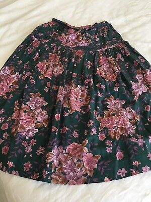 Vintage Laura Ashley Skirt / Floral / Gypsy / Layers / Size 10
