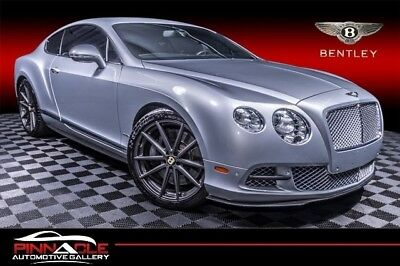 2012 Continental GT Coupe 2D 2012 Bentley Continental GT Coupe 2D 51,901 Miles SILVER Coupe W12, Twin Trb, FF