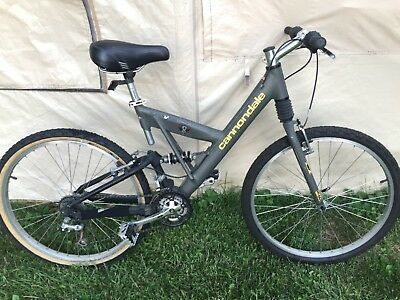 ed838db8db4 Cannondale Super V 700 Mountain Bike - Unique - MADE IN USA - Great  Condition
