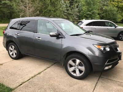 2012 Acura MDX Base 2012 Acura MDX SH-AWD, 3rd row seats, heated leather, very clean
