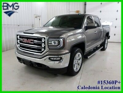 2017 GMC Sierra 1500 2017 SLT 11k miles Two Owner 4X4 4WD Pickup Truck 5.3L 2017 GMC Sierra 1500 Warranty Heated Cooled Seats Leather 4 Wheel Drive