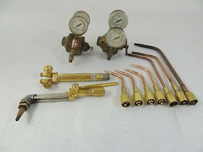 Airco Concoa Oxy/Acetylene Welding/Cutting Torch Kit