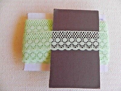 Card of New Lace - Green