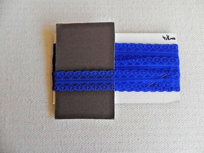 Card of New Lace - Royal Blue