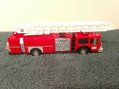 """1986 Hess Red """"toy Fire Truck Bank""""  """"new In Box""""-Mint Box Has Wear"""