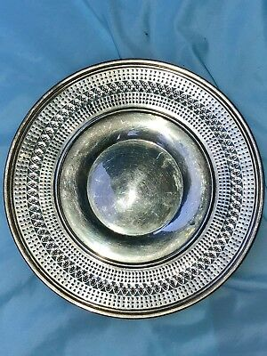 """VINTAGE J. S. Co STERLING SILVER 10 1/4"""" TRAY — C 3471"""