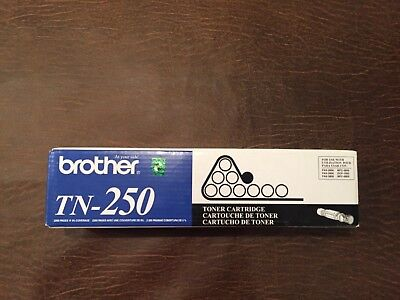 Brother Tn-250 Genuine Black Standard Yield Toner Cartridge Fax-2800 Mfc-6800