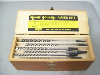 Stanley Russell Jennings Auger Bits NO BX-D32 1/2 13 sizes no 100RJ