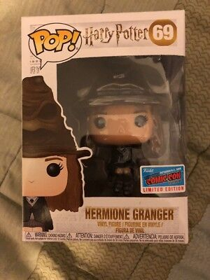 Funko Pop Harry Potter: Hermione Granger Sorting Hat NYCC Official Sticker 2018