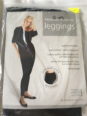 Maternity Tights Over Belly