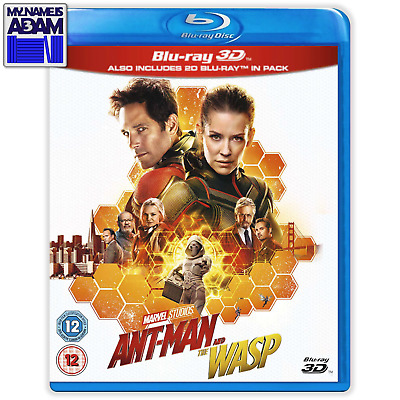 [MARVEL] ANT-MAN AND THE WASP Blu-ray 3D + 2D (REGION-FREE)