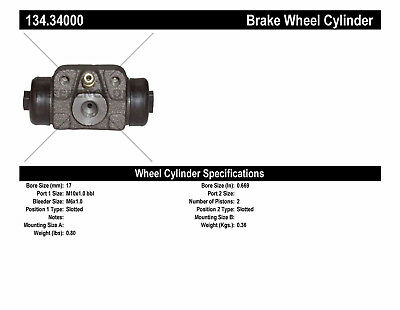 Drum Brake Wheel Cylinder-Premium Wheel Cylinder-Preferred fits 68-71 BMW 1600