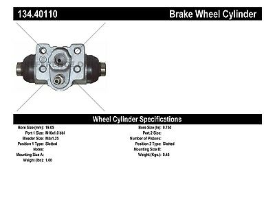 Drum Brake Wheel Cylinder-Premium Wheel Cylinder-Preferred fits 01-05 Civic