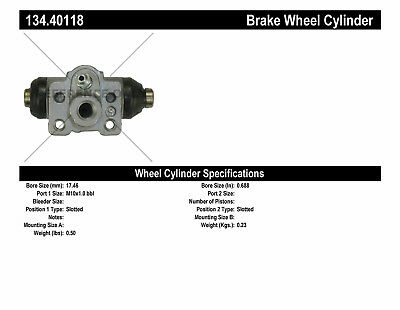 Drum Brake Wheel Cylinder-Premium Wheel Cylinder-Preferred Rear Left fits Fit