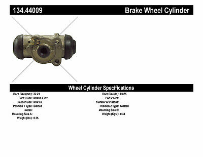 Drum Brake Wheel Cylinder-Premium Wheel Cylinder-Preferred Rear Left fits Camry