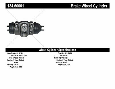 Drum Brake Wheel Cylinder-Premium Wheel Cylinder-Preferred Rear fits Aspire
