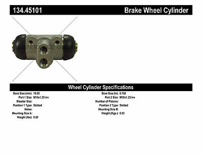 Drum Brake Wheel Cylinder-Premium Wheel Cylinder-Preferred Rear Left fits GLC