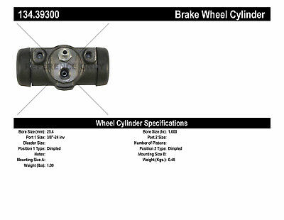 Drum Brake Wheel Cylinder-Premium Wheel Cylinder-Preferred Rear fits 61-66 122