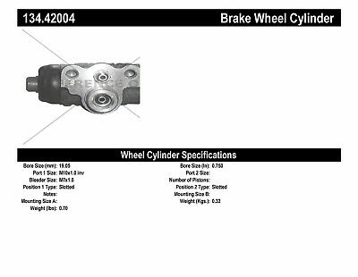 Drum Brake Wheel Cylinder-Premium Wheel Cylinder-Preferred Rear fits Sentra