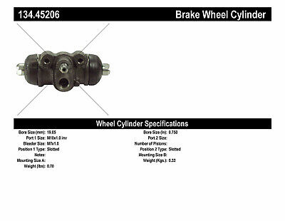 Drum Brake Wheel Cylinder-Premium Wheel Cylinder-Preferred Rear fits Protege