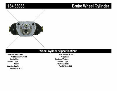 Drum Brake Wheel Cylinder-Premium Wheel Cylinder-Preferred fits 04-05 PT Cruiser