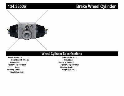 Drum Brake Wheel Cylinder-Premium Wheel Cylinder-Preferred Rear fits 11-12 Jetta