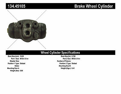 Drum Brake Wheel Cylinder-Premium Wheel Cylinder-Preferred Rear Left fits RX-7
