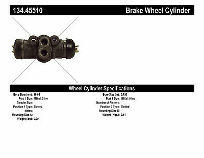 Drum Brake Wheel Cylinder-Premium Wheel Cylinder-Preferred Rear Right fits B2200