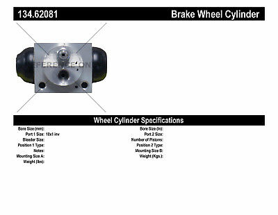 Drum Brake Wheel Cylinder-Premium Wheel Cylinder-Preferred Rear fits 10-15 Cruze