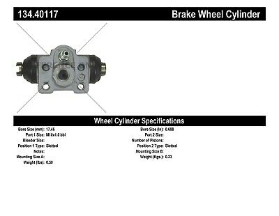 Drum Brake Wheel Cylinder-Premium Wheel Cylinder-Preferred Rear Right fits Fit