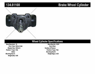 Drum Brake Wheel Cylinder-Premium Wheel Cylinder-Preferred Rear fits Fiesta